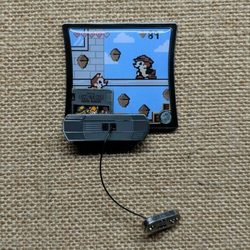 Kingdom Consoles Slider Pin of the Month 2019 Disney Parks Video Game LE 4000