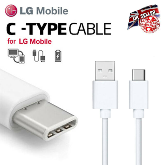 LG USB-C 3.1 Type C Phone Data Charger Fast Charging Cable for LG G5 G6 V20