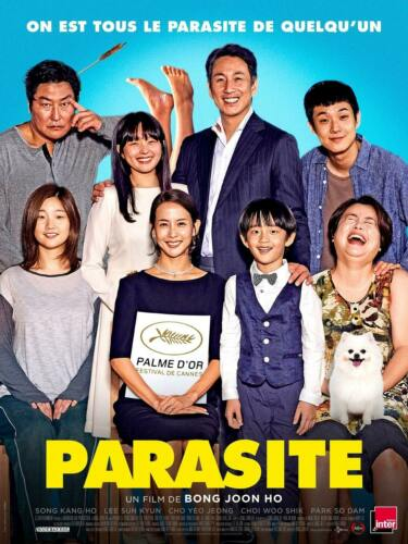 P449 Parasite Movie 2019 14x21 32x48 Art Poster