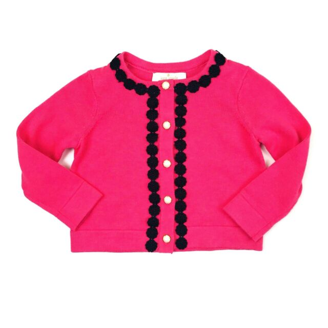 2df867043 Kate Spade NY Cardigan Sweater Size 12 Months Baby Girl Petunia Pink ...