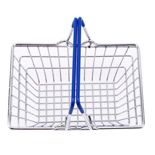 Children/'s Mini Supermarket Shopping Basket Pretend Role Play Toys DS