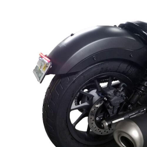 HONDA REBEL 300 500 CMX INTEGRATED LED FENDER ELIMINATOR TURN BRAKE LIGHT BAR