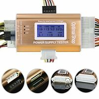Optimal Shop 20/24 4/6/8 Pin 1.8 Lcd Computer Pc Power Supply Tester For Sata,i on sale