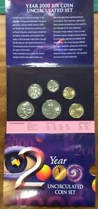 2000-RAM-Uncirculated-year-set