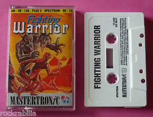 Sinclair-ZX-Spectrum-Mastertronic-FIGHTING-WARRIOR-1989-NEW