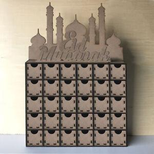 Wooden-MDF-Eid-Ramadan-Advent-Calendar-DIY-House-Drawer-Stand-Rack-Decorations