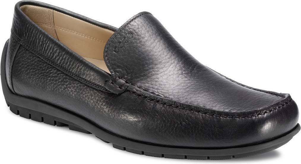 Ecco Soft Moc Black Slip on Size 40 EUR, US 6-6.5