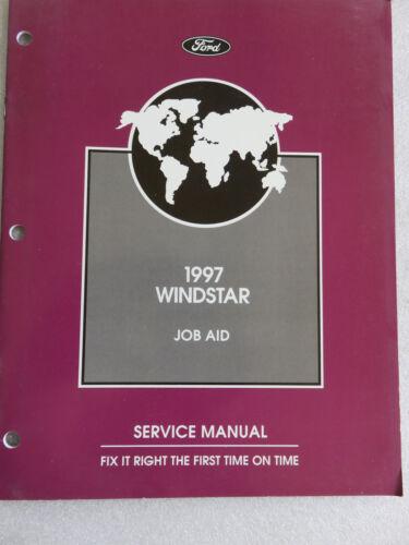 1997 Ford Windstar Service Repair Manual OEM Factory Dealership Workshop Job Aid