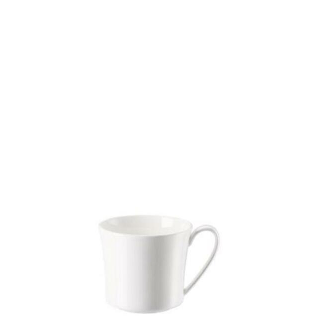 Café au lait Untertasse 18cm Classic Weiß Walküre Porzellan
