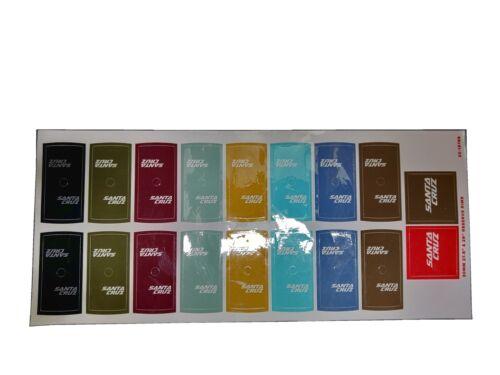 Santa Cruz reserve Decals Sticker kit