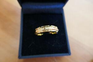 Luxus Ring Damenringe Fingerringe Kristall Belle Miss Paris Elastisch Schlange