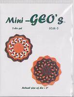 Geo-dies: Mini Cutting Dies For Beautiful Geometric Designs
