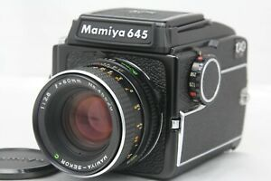 Quasi-Nuovo-Mamiya-M645-livello-della-vita-Finder-SEKOR-C-80mm-F2-8-dal-Giappone