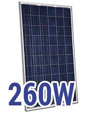 Pannello Solare Fotovoltaico 260W ideale per Impianto Casa e Baita 24V