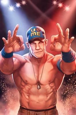 WWE #1 BOOM Studios TATE'S Exclusive John Cena Variant Cover Comic Wrestling