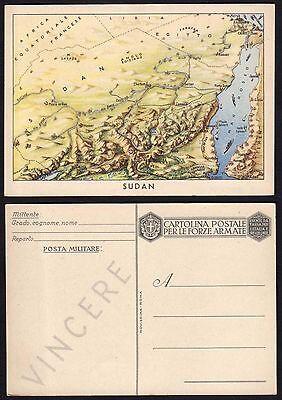 """CARTOLINA Militare in franchigia 1940 """"Carte Geografiche"""" NUOVA (ZUD)"""