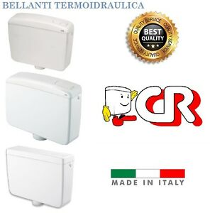 Cassetta scarico vaso wc esterna cr bianca champagne beta - Cassetta scarico wc esterna montaggio ...