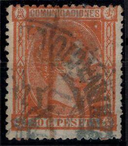 P133273/ SPAIN – ALFONSO XII – EDIFIL # 165 USED – CV 220 $