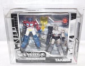 Transformers 2002 Afa 85 Scf Pack de 2 Convoyeurs contre Megatron Battle Damage Misb