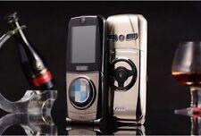 NEW Fashion Global Unlock 760 Quad Band Dual SIM Luxury Car Flip Cell Phone