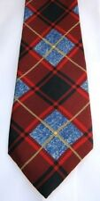 Plaid Necktie by Nautica 100% silk Casual