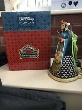 Jim Shore Disney Traditions Showcase Wicked Snow White Hag Evil Queen  Boxed