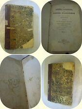 "Divina Commedia VOLUME 1 ""L'INFERNO"" 1830 Pomba Torino"