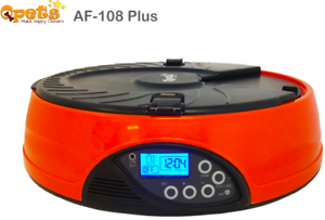 Refurbished-Qpets-Automatic-Pet-Feeder-AF-108-6-MEAL-for-Small-pet
