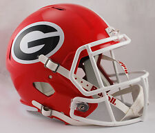 GEORGIA BULLDOGS UGA NCAA Riddell SPEED Full Size Replica Football Helmet