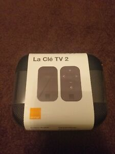 La-Cle-TV-2-Orange-Avec-Telecommande-COMPLET