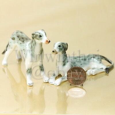 Veterinary Vet /& Dog Pottery Figurine Animal Pet Doctor Puppy Collar Leash Bone