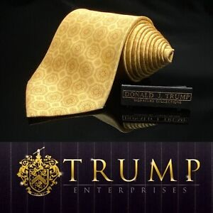 DONALD-J-TRUMP-SIGNATURE-COLLECTION-Gold-Geometric-NECKTIE-POWER-TIE-60-5