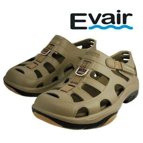 Fishing Shoes Mens Size 12 Khaki Color Shimano Evair Marine