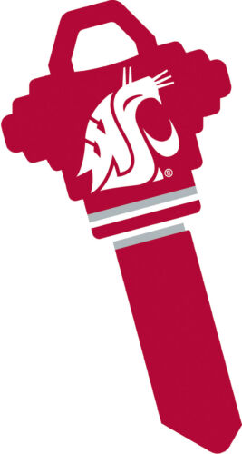 Washington State University WSU Cougars Cougar WAZZU Key Blank for Schlage SC1