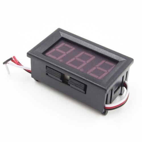 Red LED Panel Meter Mini Digital Voltmeter DC 0V To 30V neue gute Qualität