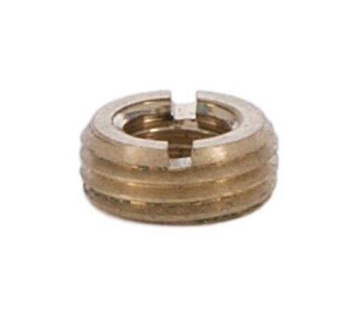 BRASS HEADLESS REDUCER ~ 1//8 IPS M to 1//4-27 F ~ Lamp Repair Parts ~ #YB28
