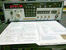 Rohde Amp Schwarz Polarad 309 Microwave Signal Generator 10 To 18 Ghz Defective