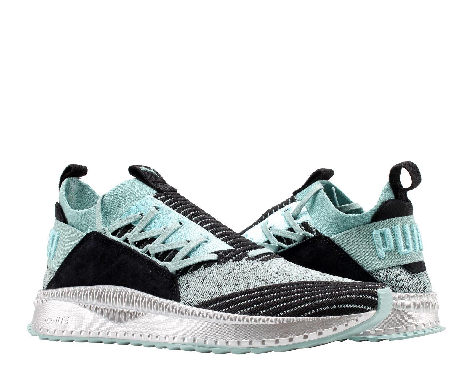 Puma TSUGI Jun TD Aquifer-Black-Silver Men's Casual Sneakers 36702001