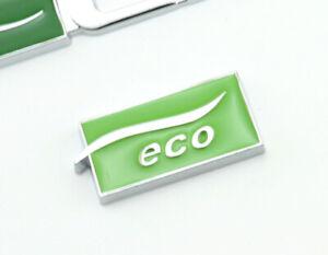 Eco-Emblem-Logo-Badge-auto-aufkleber-Metall-car-Sticker-LPG-Eco-Emblem-Eco-neu