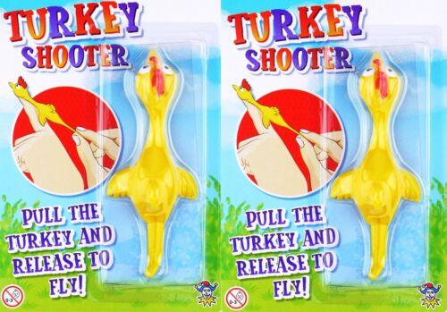 2x Flying Turquie tireur Fantaisie Garçons Filles Fête D'Anniversaire Sac De Remplissage Jouet Cadeau