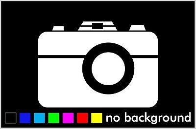 "Canon Decal 3.5/"" 4.5/"" 5.5/"" Camera Photography Photo Laptop Window Bumper Album"