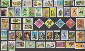 50-MALDIVE-ISLANDS-All-Different-Stamps-C80