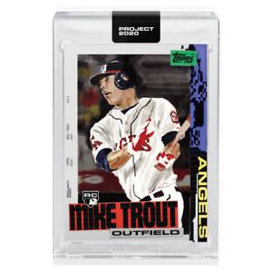 Topps-PROJECT-2020-Card-85-2011-Mike-Trout-by-Jacob-Rochester-Guaranteed-Presale