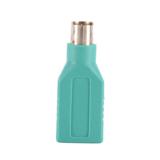 1PC USB Female in to Male Adapter Converter for PS2 Computer Keyboard Mous FZ