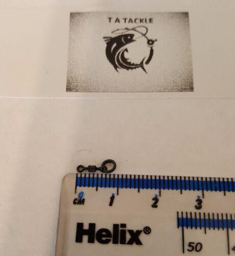Micro Crochet Flexi Ring émerillons-D-Rigs /& 360 ° Rigs-Compatible avec stop perles