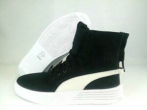 Details about Puma XO Parallel Black White The Weekend Shoes 365039 05 Mens Sz 11