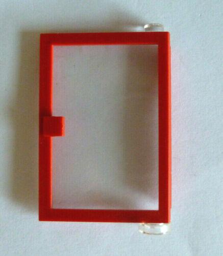 1 x LEGO®73436,6597,6765,6397City,Haus-Tür rechts 1x4x5 rot wie auf dem Foto.01