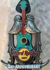 Hard Rock Cafe GUATEMALA CITY 2015 2nd Anniversary PIN Birds on Guitar HR #85566