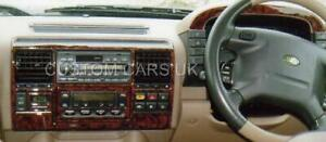 LAND-ROVER-DISCOVERY-SERIES-2-1998-2004-Dash-Kit-Walnut-Carbon-Piano-Black