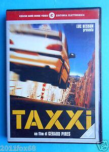 rare dvd taxxi taxi gerard pires luc besson marion cotillard emma sjoberg dvds